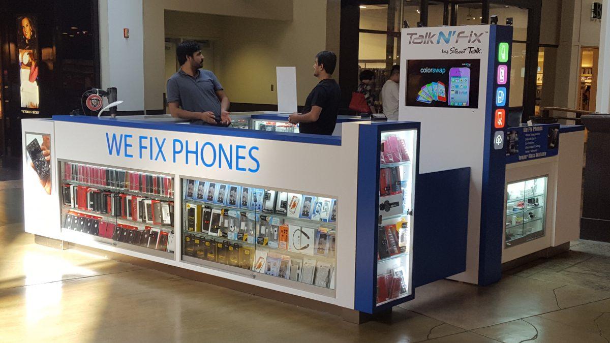 Talk N' Fix Kiosk at Ontario Mills