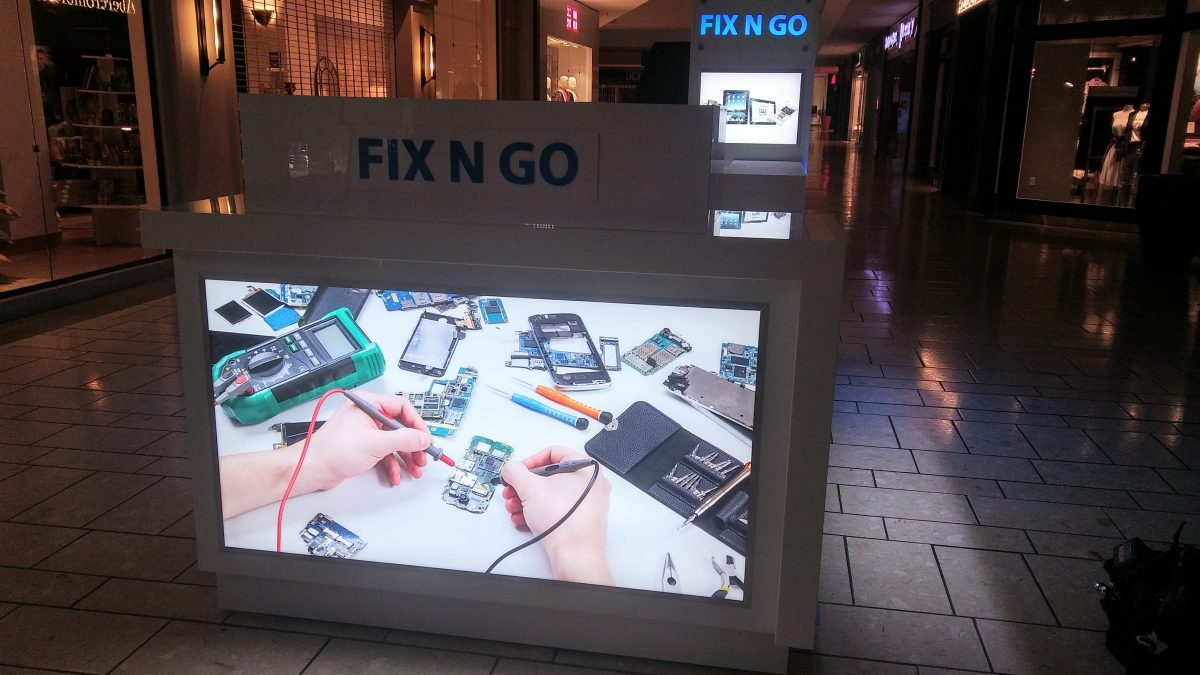 Fix N Go Kiosk at Stoneridge Shopping Center