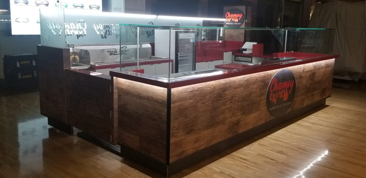 Chamoy Express Kiosk at Ontario Mills