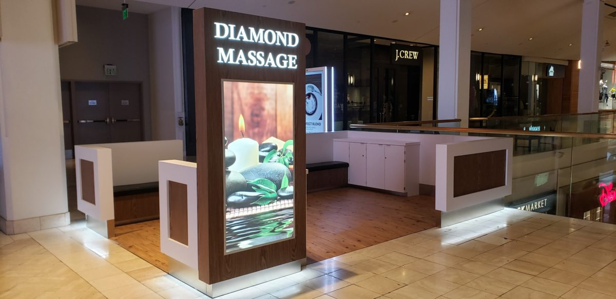 Diamond Massage Kiosk at Northridge Fashion Center