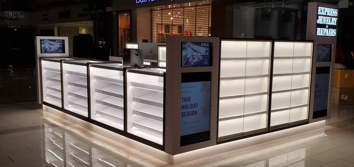 Express Jewelry and Repair Kiosk at Westfield Culver City