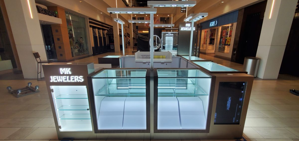 MK Jewelers Kiosk at Montclair Plaza