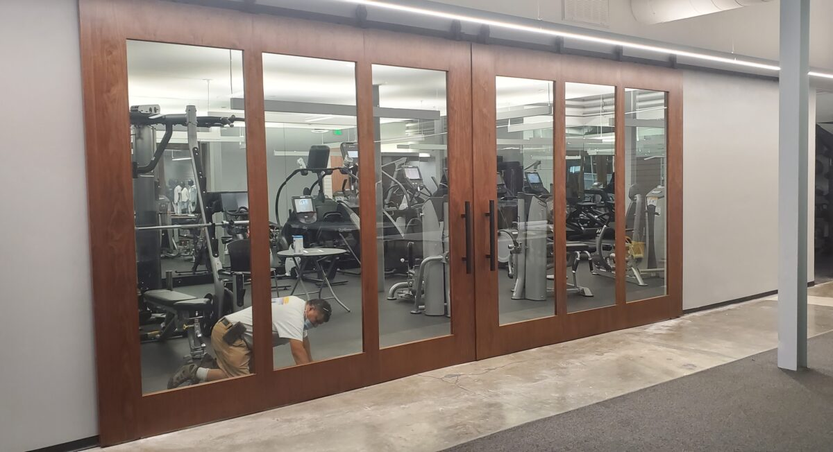 Cabinets and Doors for Agron Gym