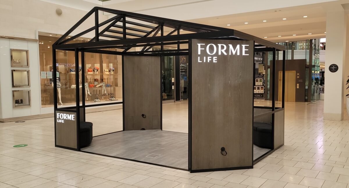 FORME Life Mall Kiosk at Westfield Fashion Square