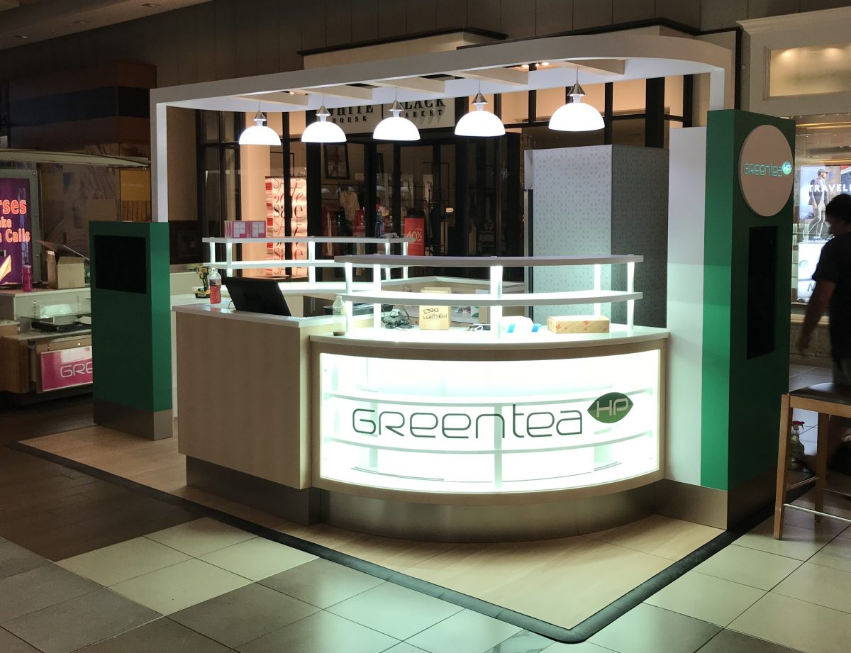 Green Tea Kiosk at Fashion Place