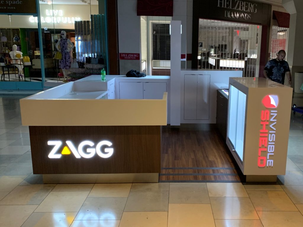 Zagg InvisibleShield Kiosk