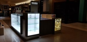 Exclusive Gold and Diamonds kiosk