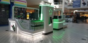 Fanalux Kiosk at Galleria at Tyler