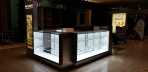 Exclusive Gold and Diamonds mall kiosk