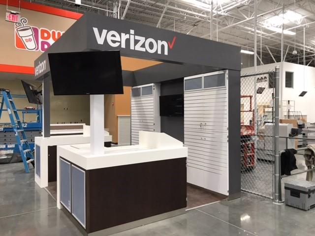 A Wireless Verizon Kiosk at BJ's Wholesale Club in Summerville