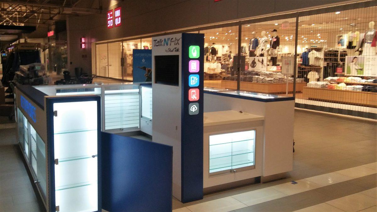 Talk N' Fix Kiosk at Great Mall